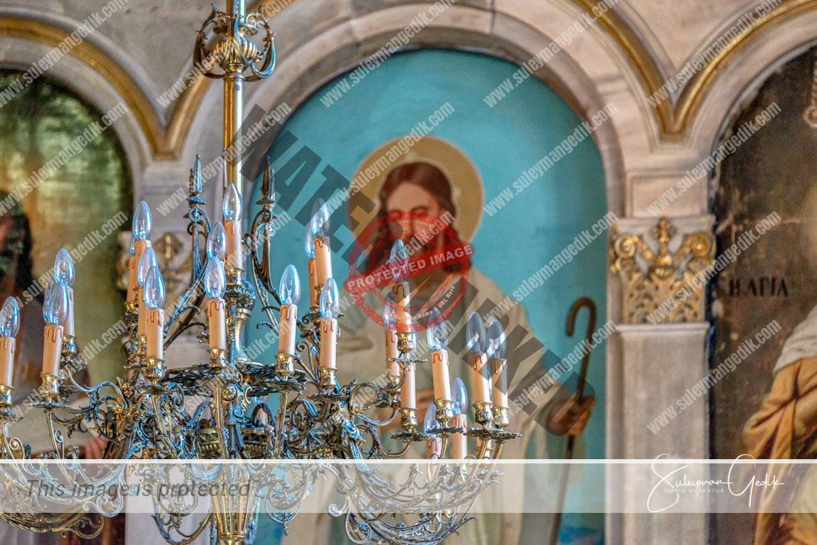 Panaya Evangelista Church Istanbul Turkey Orthodox Cristian Jesus