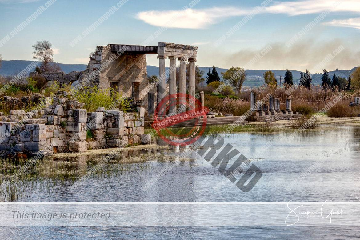 Miletos Miletus Ionia Ancient Greek Archaeological Aydın Turkey