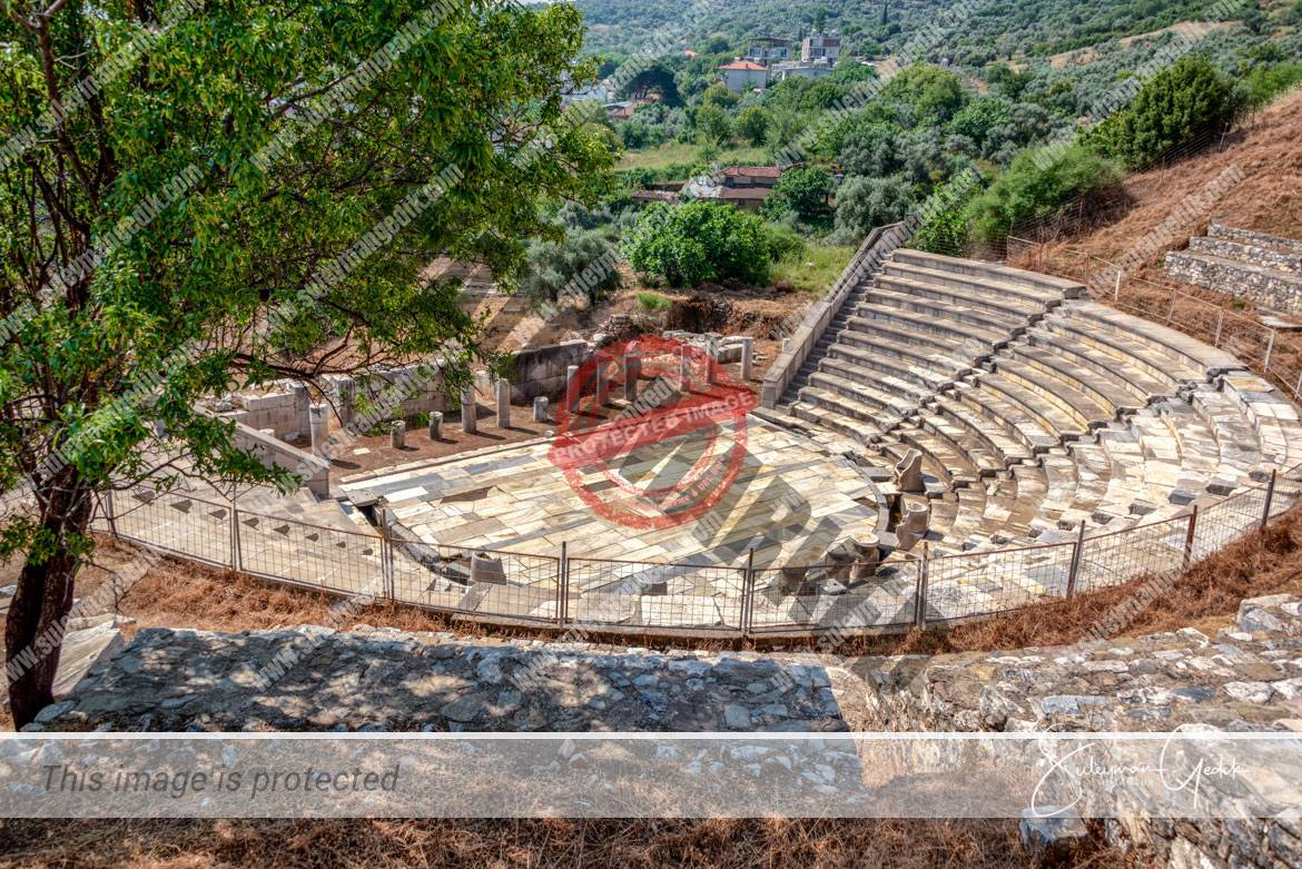 Theater Metropolis Ionia Ancient Greek Archaeological Izmir Turkey