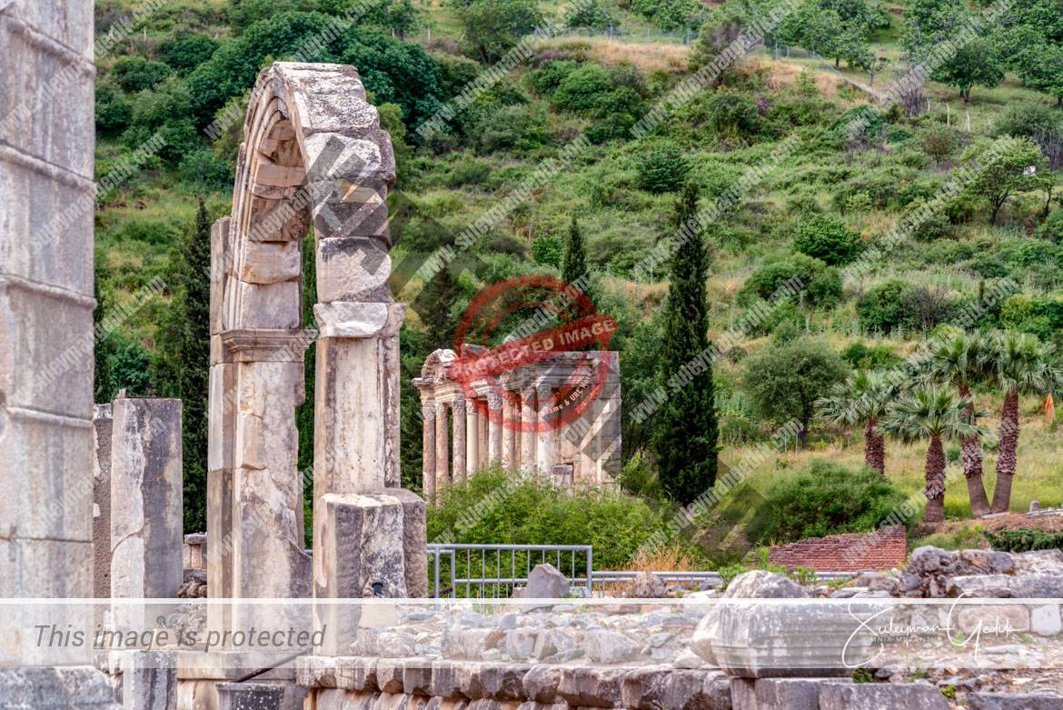 Ephesus Ionia Ancient Greek Archaeological Turkey