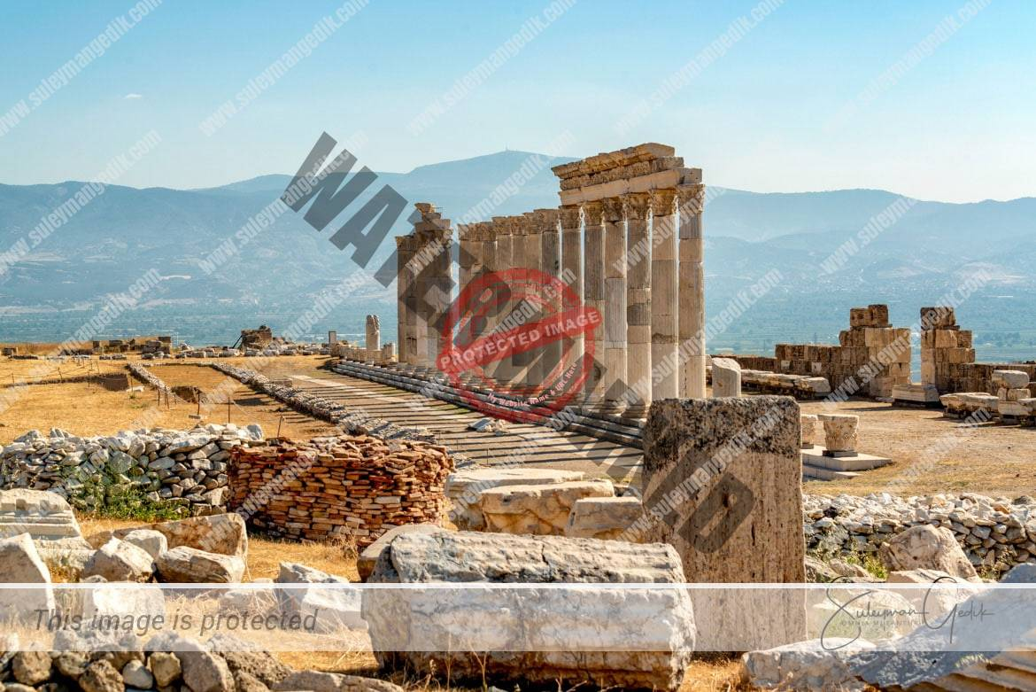 Laodikeia Phrygia Ancient Greek Roman Archaeological Denizli Turkey