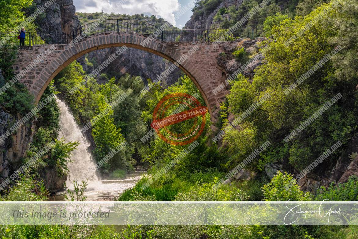 Clandras Phrygia Uşak Turkey Ancient Roman Bridge Archaeological