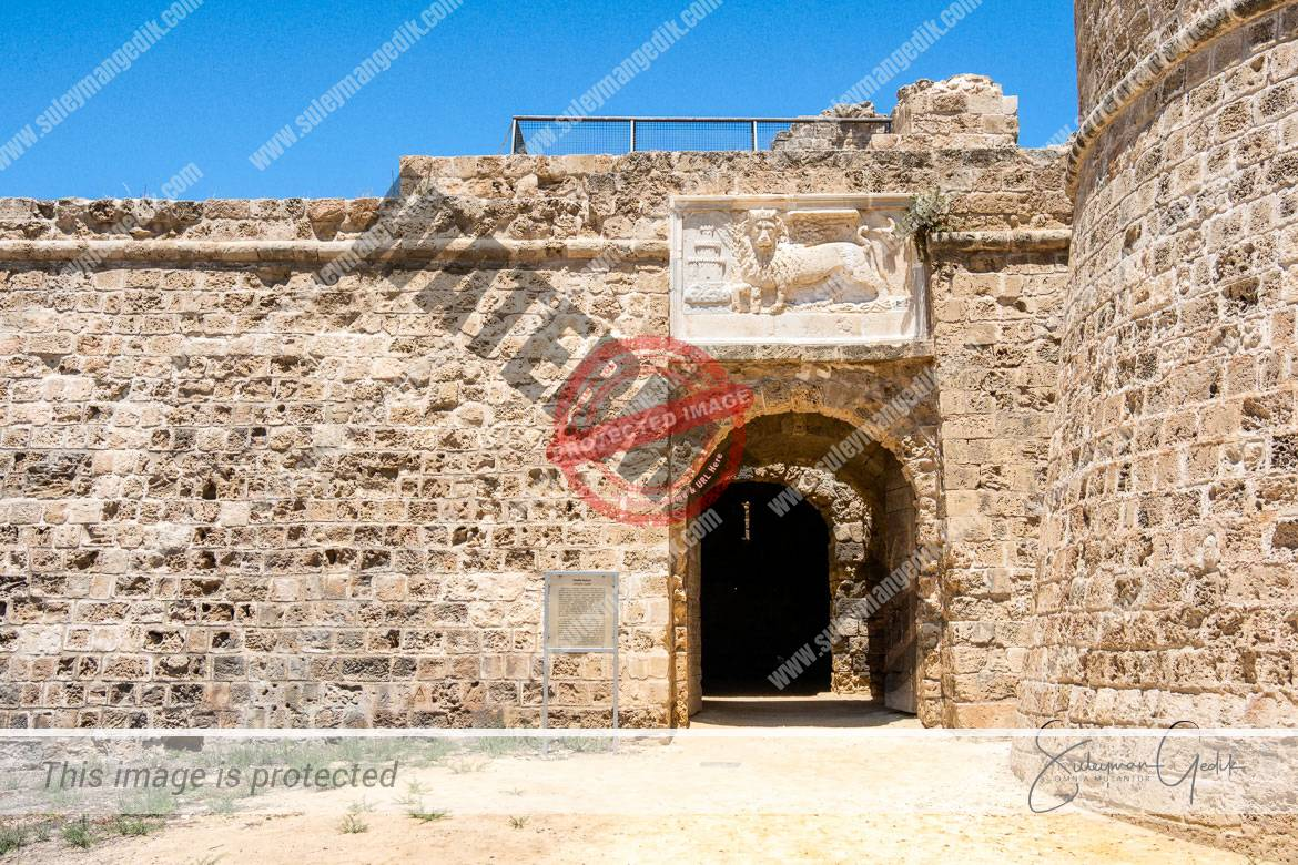 Othello Tower Castle Citadel Famagusta Cyprus Medieval