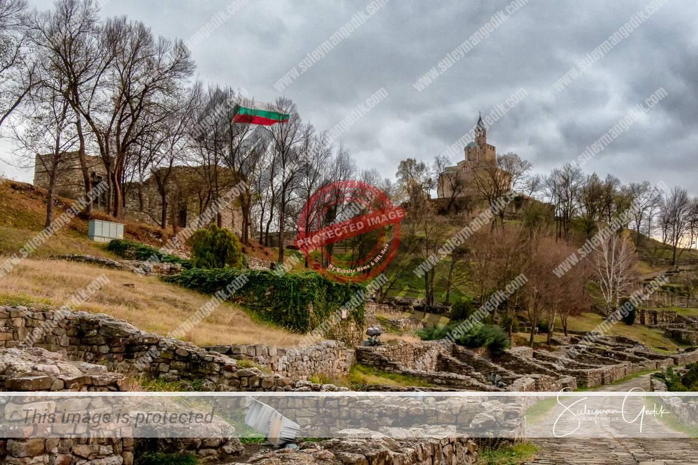 Tsarevets Veliko Tarnovo Bulgaria Medieval Citadel Cathedral