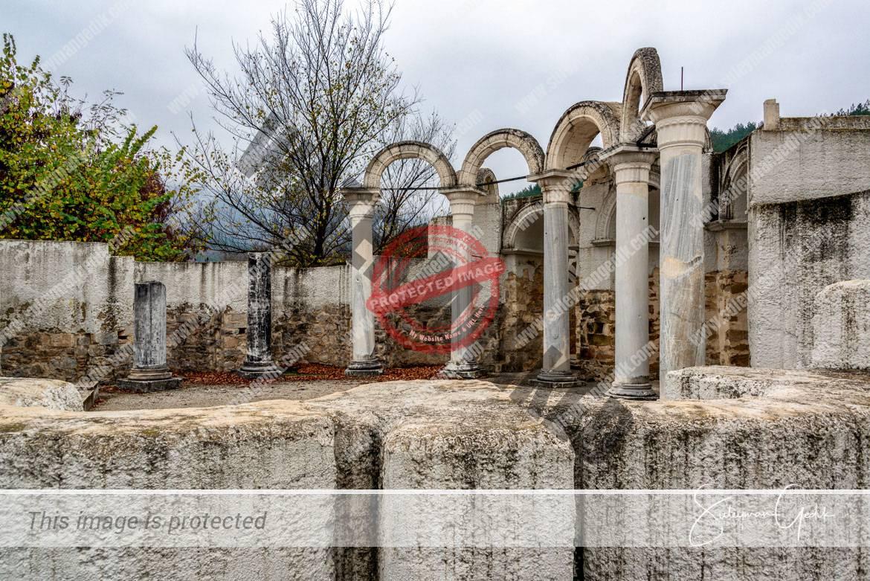 Round Golden Church Veliki Preslav Shumen Bulgaria Medieval