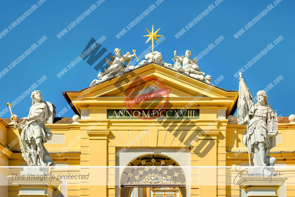 Stift Melk Lower Austria Baroque Church Abbey Christian Catholic