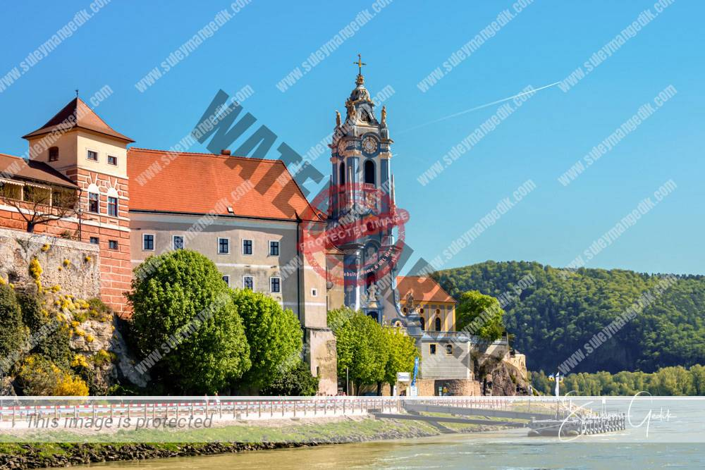 Stift Durnstein Lower Austria Church Abbey Christian Catholic