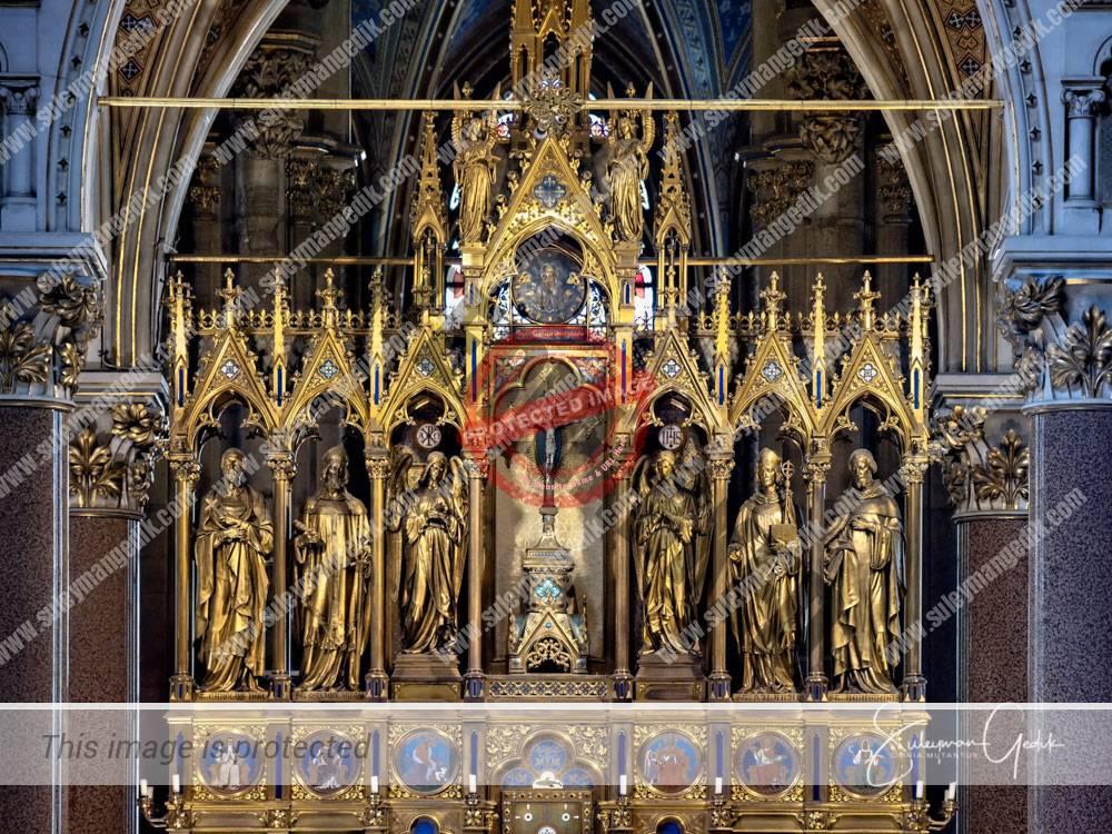 Votivkirche Vienna Wien Austria Jesuit Church Christian Catholic