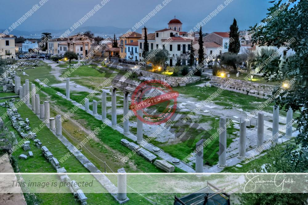 Roman Agora Athens Greece Archaeological Ancient