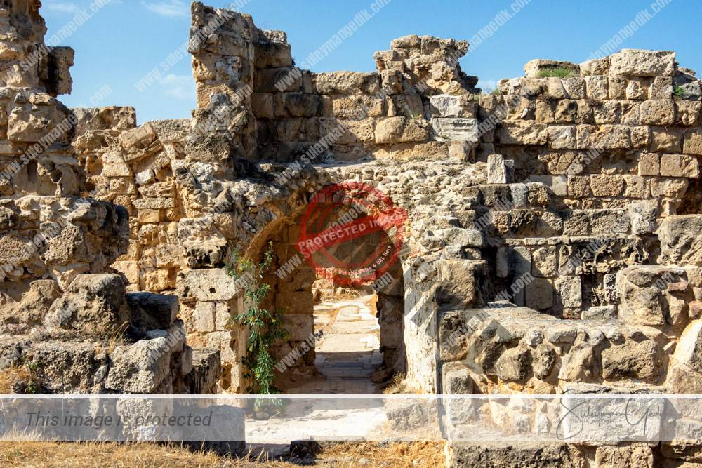 Salamis Cyprus Ancient Greek Archaeological
