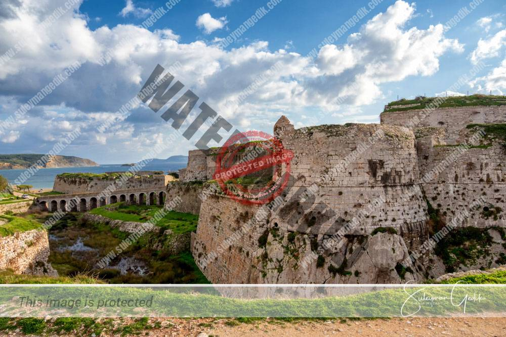 Methoni Venetian Castle Fortress Medieval Greece Peloponnese