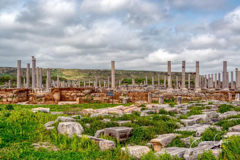 Perge Parga Pamphylia Ancient Greek Archaeological Antalya Turkey