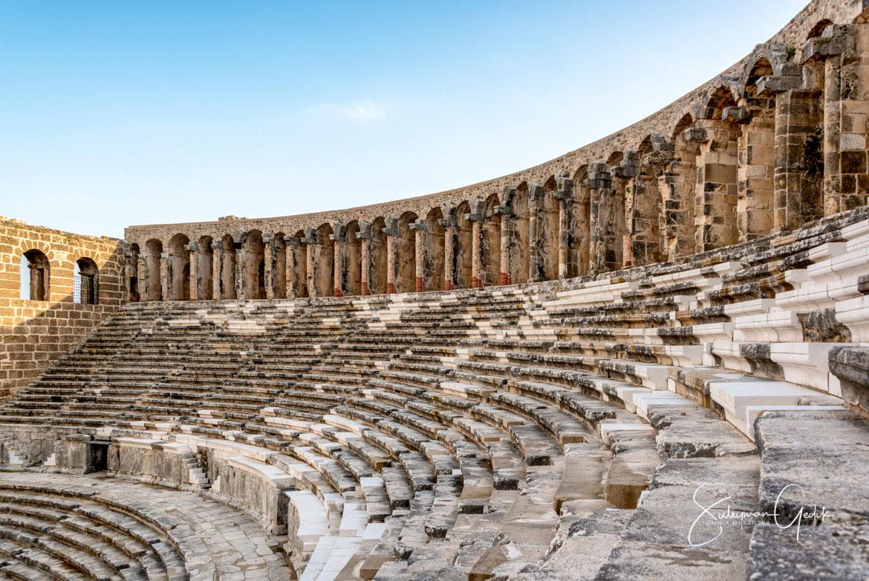 Theater Aspendos Pamphylia Ancient Greek Archaeological Antalya Turkey