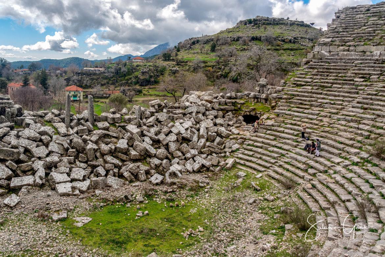 Selge Pisidia Antalya Turkey Ancient Greek Theater Archaeological