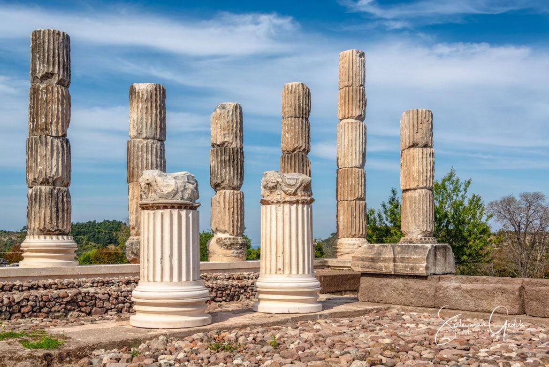 Temple Apollon Smintheion Troas Çanakkale Turkey Ancient Greek Archaeological