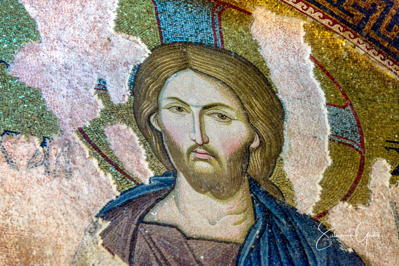 Chora Kariye Istanbul Constantinople Byzantium Church Museum Mosaic Jesus