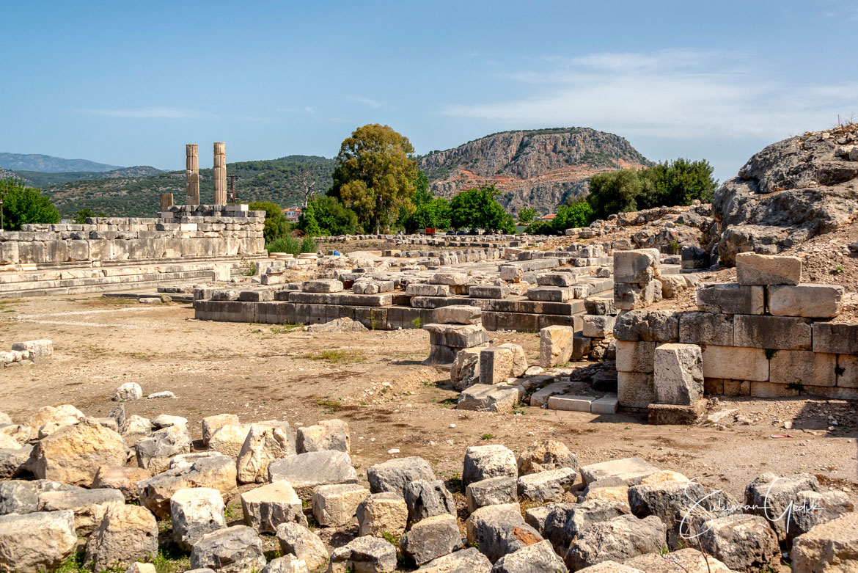 Letoon Lycia Mugla Turkey Ancient Greek Archaeological Sacred