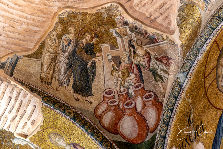 Chora Kariye Istanbul Constantinople Byzantium Church Museum Mosaic