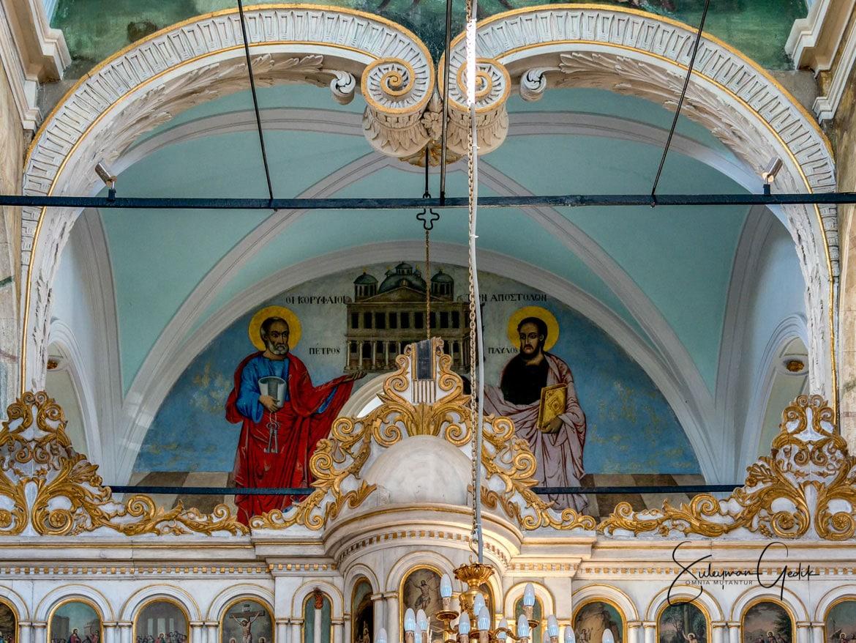Taksiyarhis Church Ayvalik Turkey Museum Christian Orthodox