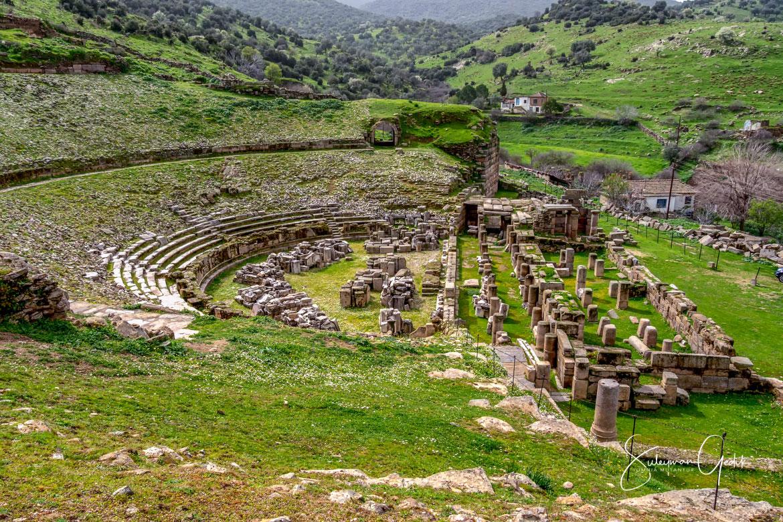 Alabanda Caria Ancient Theater Aydın Turkey Greek Archaeological