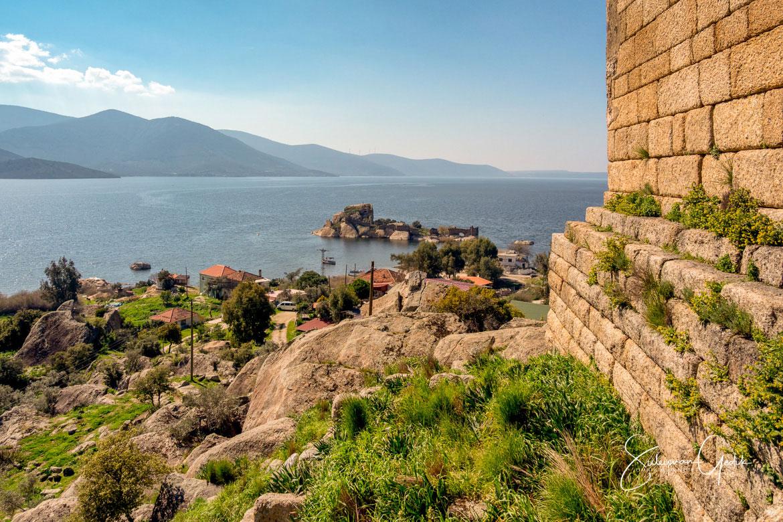 Herakleia ad Latmos Caria Ancient Greek Archaeological Turkey Mugla Bafa Lake