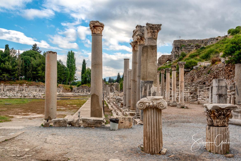 Ephesus Ionia Ancient Greek Archaeological Turkey