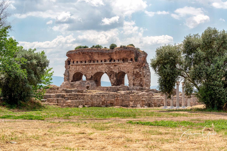 Tralleis Caria Aydın Turkey Ancient Greek Archaeological