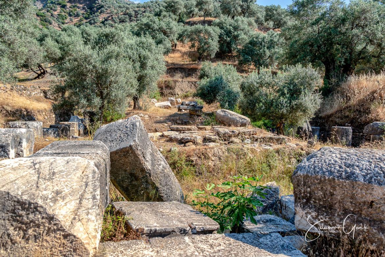Temple Pluto Kore Akharaka Caria Aydın Turkey Ancient Greek Roman Archaeological