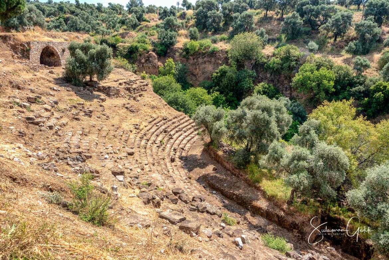 Nysa Stadium Stadion Caria Aydın Turkey Ancient Greek Archaeological