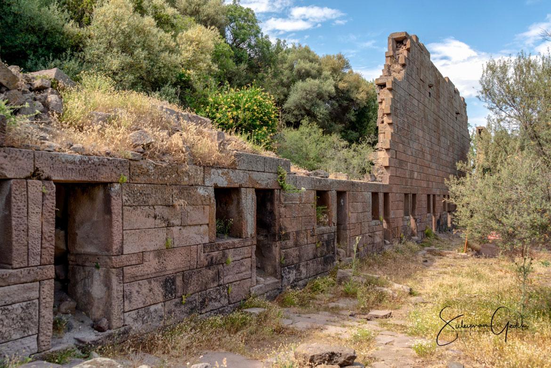 Aigai Aiolis Ancient Greek Archaeological Manisa Turkey