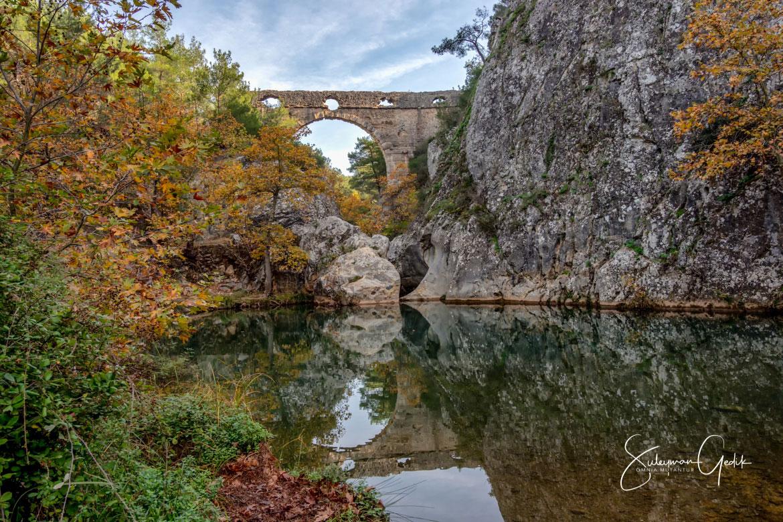 Thymbrios Aqueduct Troas Çanakkale Turkey Ancient Roman Archaeological