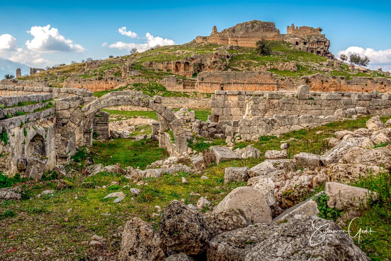 Tlos Lycia Mugla Turkey Ancient Greek Roman Byzantium Archaeological