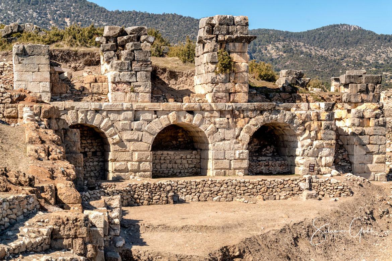 Byzantine Bath Kibyra Phrygia Ancient Greek Roman Archaeological Denizli Turkey