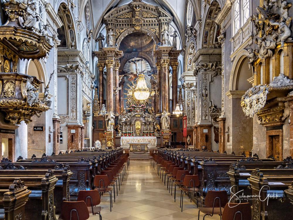Franziskanerkirche Vienna Wien Austria Franciscan Church Christian Catholic