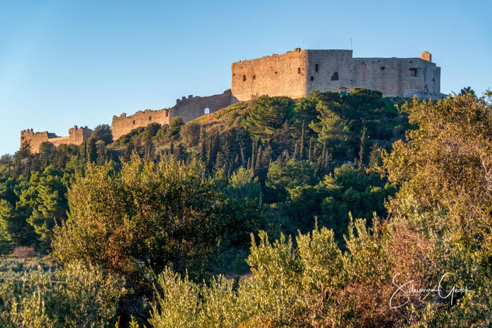 Chlemoutsi Castle Eleia Peloponnese Greece Medieval