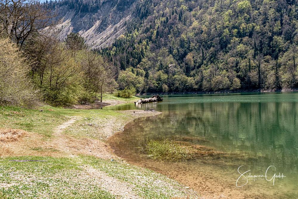 Sülüklügöl Bolu Turkey Lake Landscape