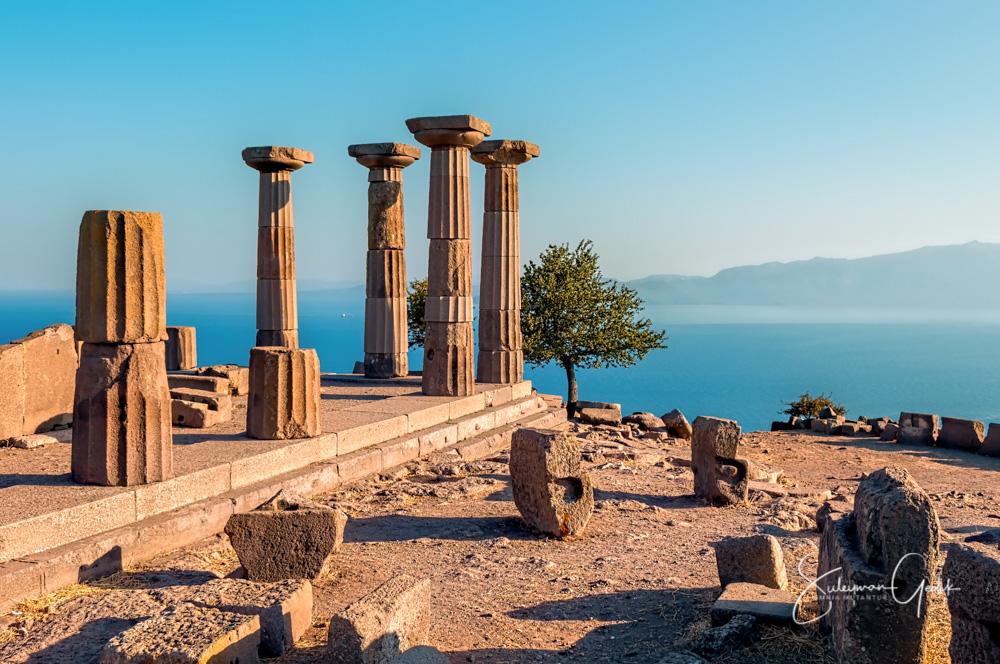 Behramkale Turkey Ancient Greek Archaeological