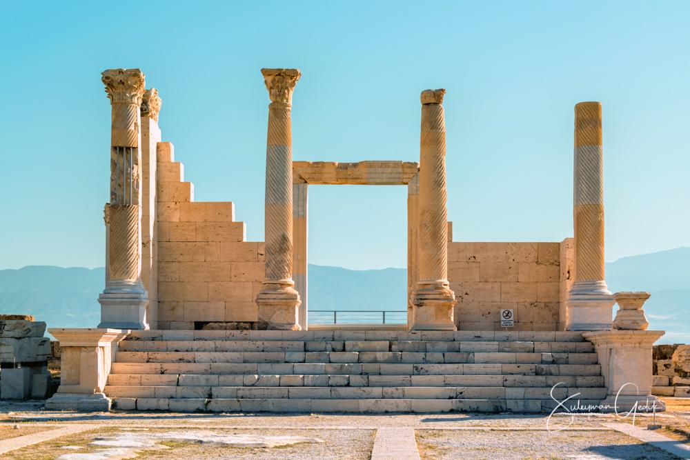Temple Ancient Greek Roman Archaeological Denizli Turkey