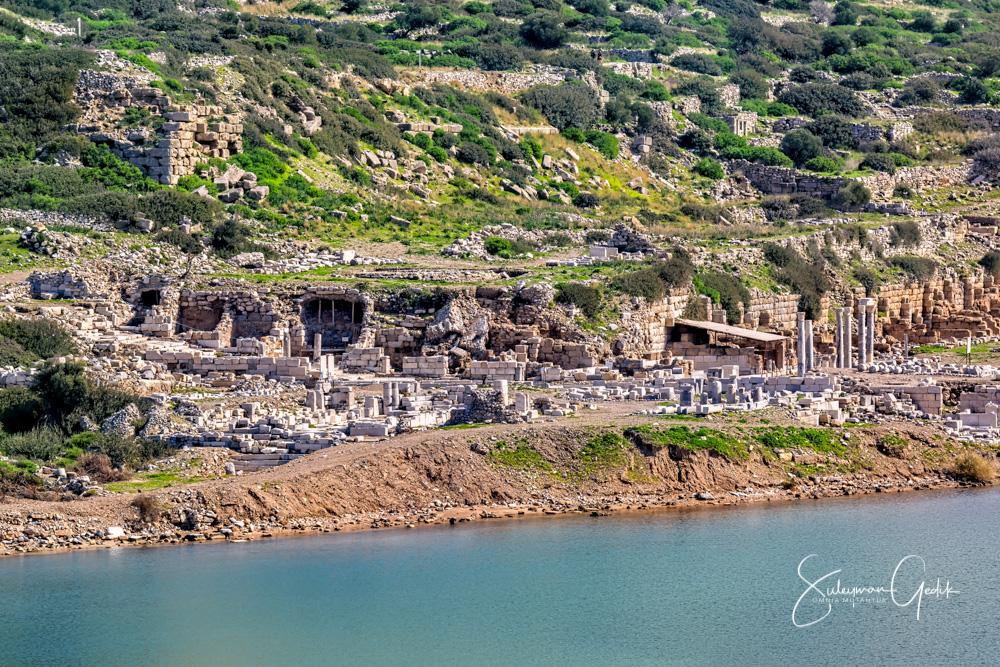 Mugla Turkey Ancient Greek Archaeological